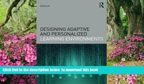 Pre Order Designing Adaptive and Personalized Learning Environments (Interdisciplinary Approaches