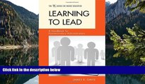 Buy James R. Davis Learning to Lead: A Handbook for Postsecondary Administrators (ACE/Praeger