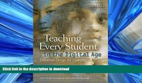 READ Teaching Every Student in the Digital Age: Universal Design for Learning On Book