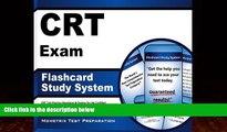 Buy CRT Exam Secrets Test Prep Team CRT Exam Flashcard Study System: CRT Test Practice Questions