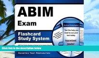 Buy ABIM Exam Secrets Test Prep Team ABIM Exam Flashcard Study System: ABIM Test Practice