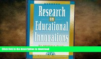 READ Research on Educational Innovations (Library of Innovations Series) Full Book