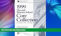 Buy Harvard Business Review Harvard Business School Core Collection: An Author, Title, and Subject