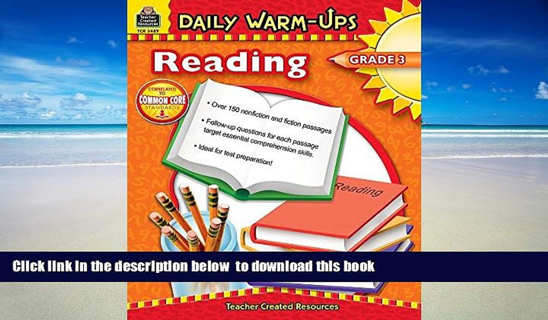 Audiobook Daily Warm-Ups: Reading, Grade 3 Shelle Russell Full Ebook