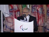 Sir Philip Craven at the Rio 2016 Paralympic Games Opening Ceremony