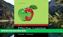 Buy Carol Carter Keys to Effective Learning: Habits for College and Career Success, Student Value