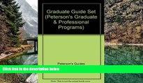 Online Thomson Peterson s Graduate Guide Set 2007 (Peterson s Graduate   Professional Programs)