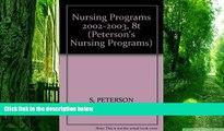 Best Price Nursing Programs 2002-2003, 8th ed (Nursing Programs, 8th ed) Peterson s On Audio