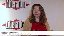 """Interview d'Alice Barbe - Forum Libération """"Migrants, la solidarité au travail"""""""