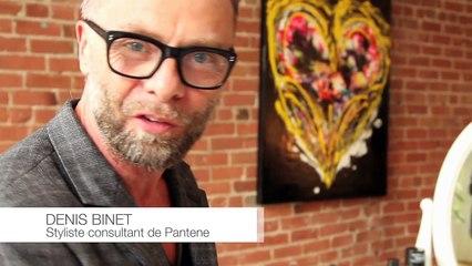 Pantene - Comment réaliser un chignon bas de côté