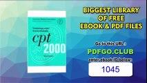CPT 2000 for Hospital Outpatient Services Paperback – October, 2000