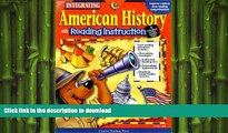 Hardcover American History: With Reading Instruction (Integrating (Creative Teaching Press)) On Book