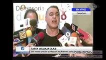 Esto dijo Tarek William Saab sobre el diálogo