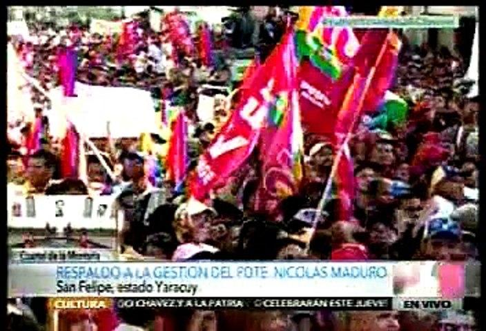"""Diosdado Cabello a la oposición: """"No hay forma de que saquen a Maduro"""""""