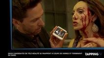 Deux candidates de télé-réalité se battent avec des verres et finissent le visage en sang (Vidéo)