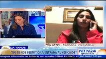 """Diputada Adriana Pichardo: """"Los venezolanos nos sentimos frustrados con el diálogo"""""""