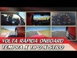 TEMPRA TURBO X TIPO SEDICIVALVOLE X STILO ABARTH - VR ONBOARD C/ RUBENS BARRICHELLO #82 | ACELERADOS