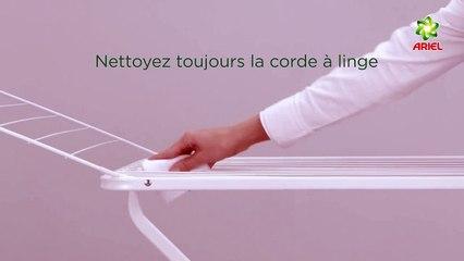 Comment sécher votre linge dehors sur un étendoir à linge - Ariel