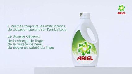 Comment doser la lessive liquide - Ariel