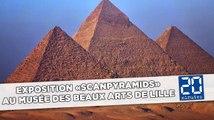 Exposition «ScanPyramids» au musée des Beaux Arts de Lille