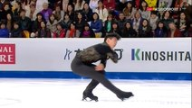 YH - GPF16 - Max Ambesi mentions Yuzu at the end of Nathan Chen's SP (ESP ITA) - ENG SUB