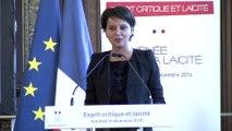[ARCHIVE] Journée nationale de la laïcité : discours de Najat Vallaud-Belkacem