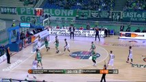 Basket - Euroligue (H) : Le Panathinaïkos s'impose