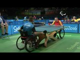 Table Tennis | POL x CHN | Men's Singles - Qualification Class 2 | Rio 2016 Paralympic Games