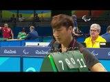 Table Tennis | FRA v KOR | Men's Singles - Qualification Class 4 | Rio 2016 Paralympic Games