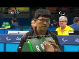 Table Tennis | KOR v CHN | Men's Singles - Qualification Class 5 | Rio 2016 Paralympic Games