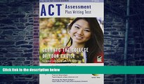 Buy NOW  ACT Assessment plus Writing Test w/CD-ROM 6th Ed. (SAT PSAT ACT (College Admission) Prep)