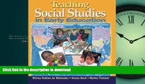 Epub Teaching Social Studies in Early Education (Early Childhood Education)