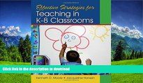 Pre Order Effective Strategies for Teaching in K-8 Classrooms Kindle eBooks