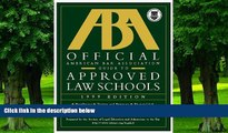 PDF Americam Bar Association Official American Bar Association Guide to Approved Law Schools