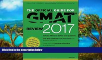Buy GMAC (Graduate Management Admission Council) The Official Guide for GMAT Review 2017 with