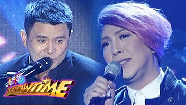 It's Showtime: Vice & Ogie performs in Kantanghalian