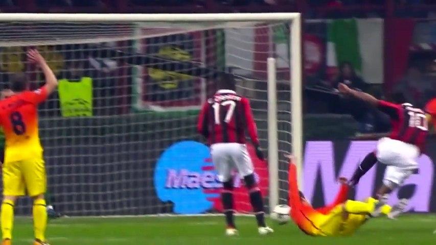 AC Milan vs FC Barcelona 2-0 Highlights (UCL)