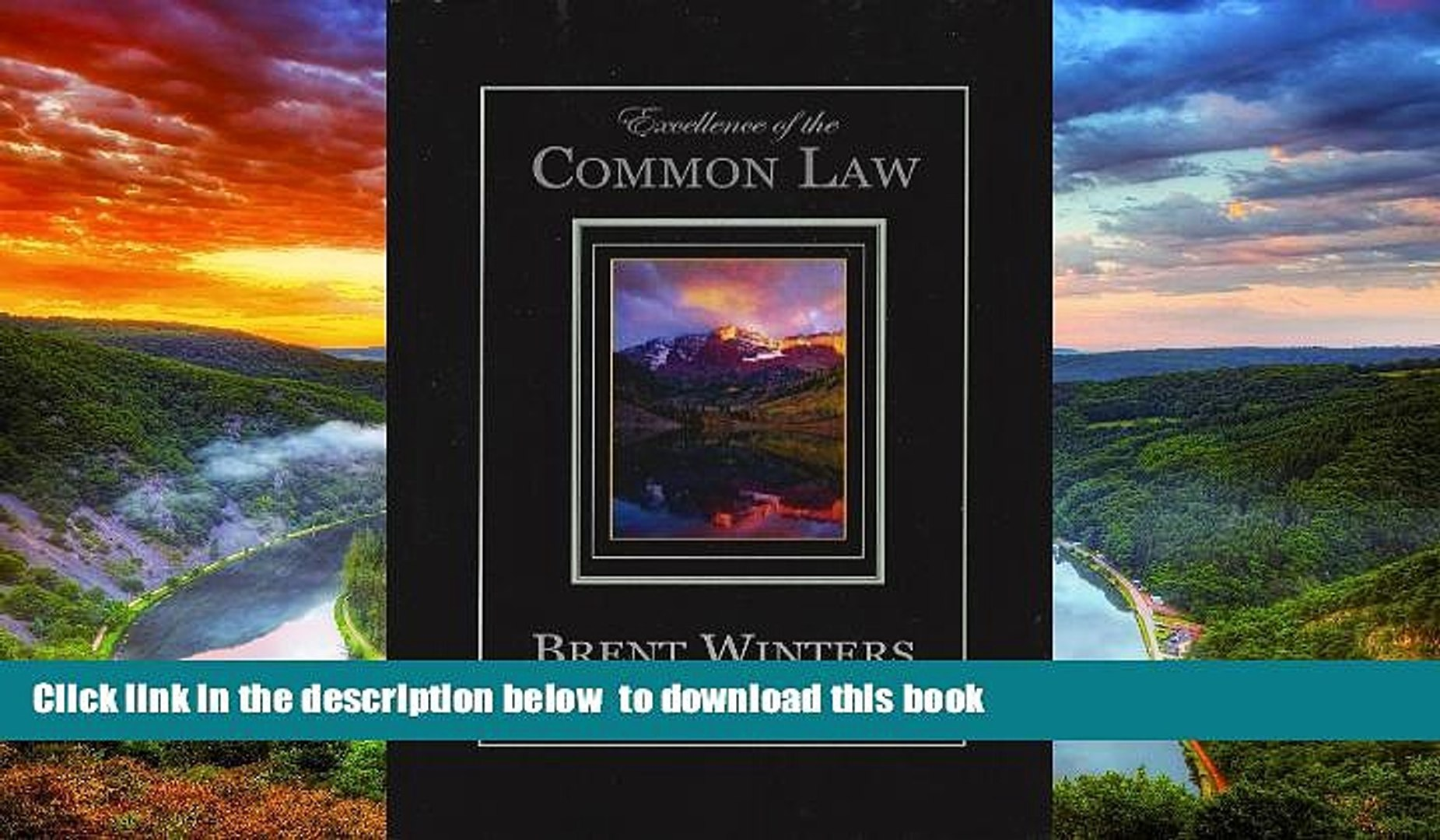 Best Price Brent Allan Winters Excellence of the Common Law: Compared and Contrasted with Civil