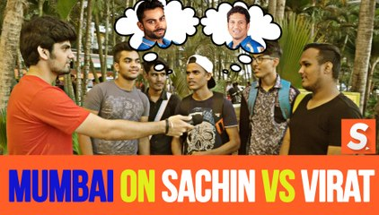 Sachin Vs Virat - Mumbai Decides!