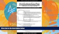 Online Manhattan Elite prep Manhattan Elite Prep Erasable GMAT Booklet with Pen (Manhattan Review)