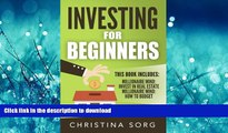 Hardcover Investing for Beginners: 2 Manuscripts - Millionaire Mind: Invest in Real Estate and How