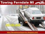 Towing Ferndale MI (248) 556-3606