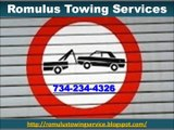 Romulus Towing Services (734) 234-4326