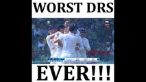 Worst DRS review Ever by India! LOL This is why India dont like DRS bcz they Dont know how to use DRS!