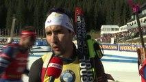 Biathlon - CM (H) - Pokljuka : Martin Fourcade «Super fier» après sa victoire dans la poursuite