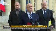 Le gouvernement propose la prolongation de l'état d'urgence - 17 attentats déjoués depuis le début de l'année selon Caze_512x384