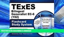 Hardcover TExES Bilingual Generalist EC-6 (192) Flashcard Study System: TExES Test Practice