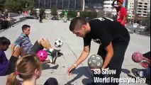 football & basketball freestyle - S3 Show for World Freestyle Day 2011