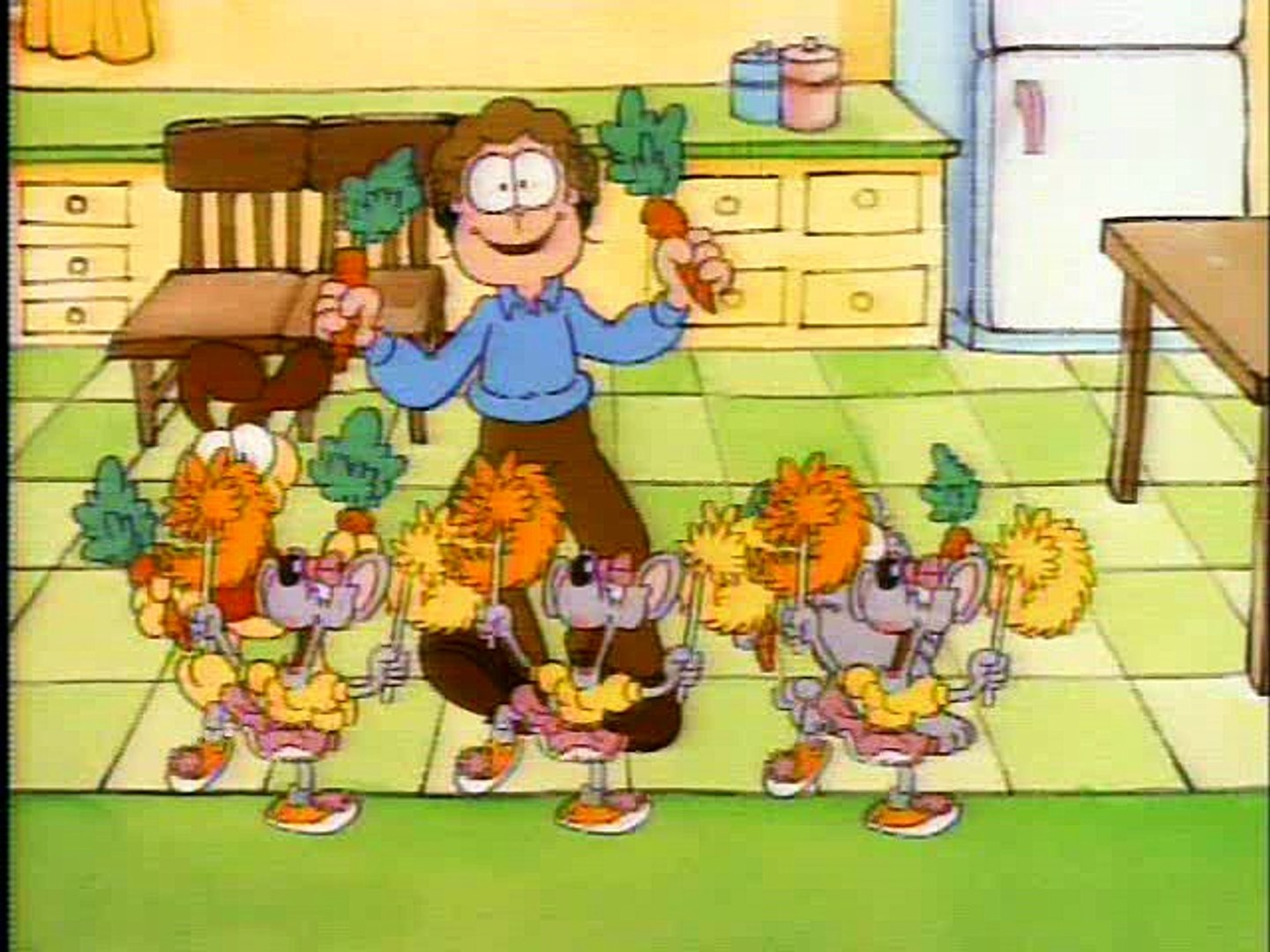 Garfield And Friends 073 The Automated Animated Adventure It S A Wonderful Wade Truckin Odie Video Dailymotion