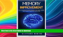 Read Book Memory improvement: The ULTIMATE Guides to train the brain : Memory improvement, Speed